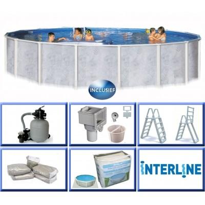 Hoofdafbeelding van Interline Diana 360 x 132 cm inclusief pakket