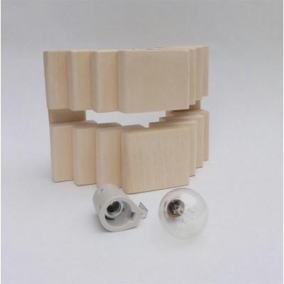 Foto van Liberty Stapel 2 Saunalamp inclusief fitting en bollamp