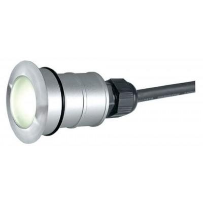 Foto van SLV POWER TRAIL-LITE ROUND edelstaal 316 1W LED wit, 228331
