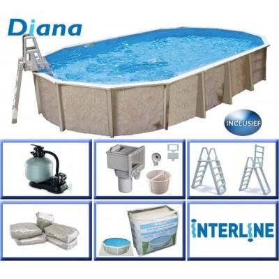 Hoofdafbeelding van Interline Diana 610 x 360 x 132 cm inclusief pakket