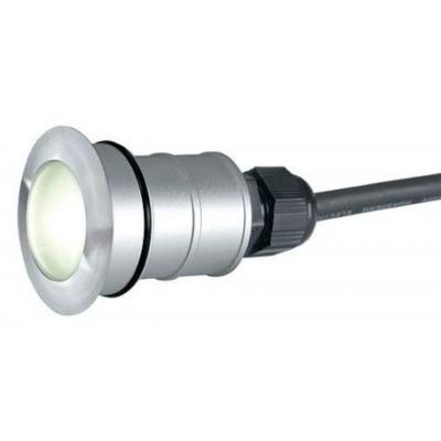 Foto van SLV POWER TRAIL-LITE ROUND edelstaal 316 1W LED ww, 228332