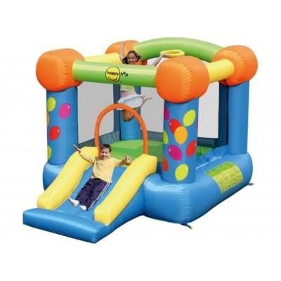 Foto van Happy Hop Party Slide en Hoop Bouncer
