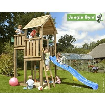 Foto van Jungle Gym Palace met Glijbaan