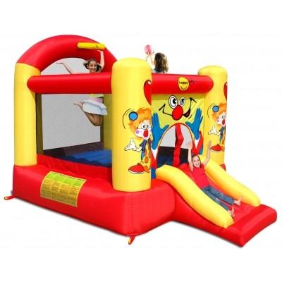 Hoofdafbeelding van Happy Hop Clown Slide and Hoop Bouncer (Large)