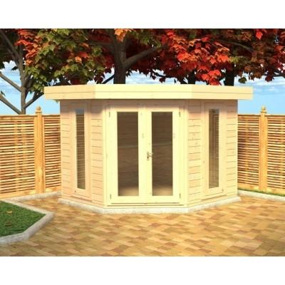 Hauptbild von Azalp Blockhaus Dario 400x400 cm, 45 mm