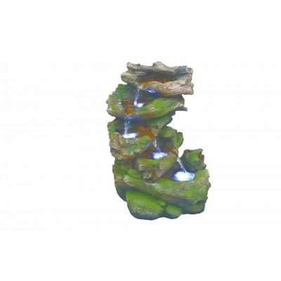 Foto van Azalp Virginia driftwood falls