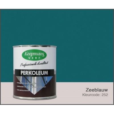 Foto van Koopmans Perkoleum, Zeeblauw 252, 0,75L Hoogglans