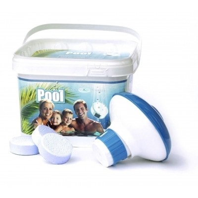 Foto van AquaFinesse Pool Bucket (30 tablets of 53g)