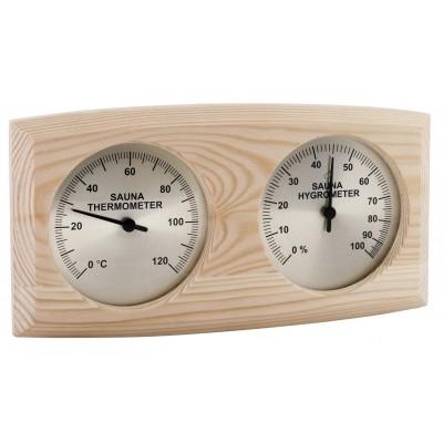 Foto van Sawo Thermo-Hygrometer met ovale behuizing (271-THBP)