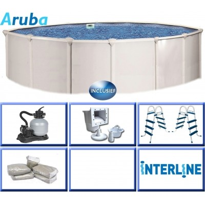 Hoofdafbeelding van Interline Aruba 360 x 122 cm inclusief pakket