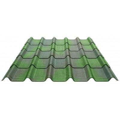Hoofdafbeelding van Onduline Complete set Onduvilla voor dit dak (Groen)