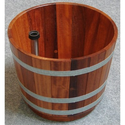 Foto van Blumenberg Voetenbak 29 liter, kambala gelakt (W521/07)