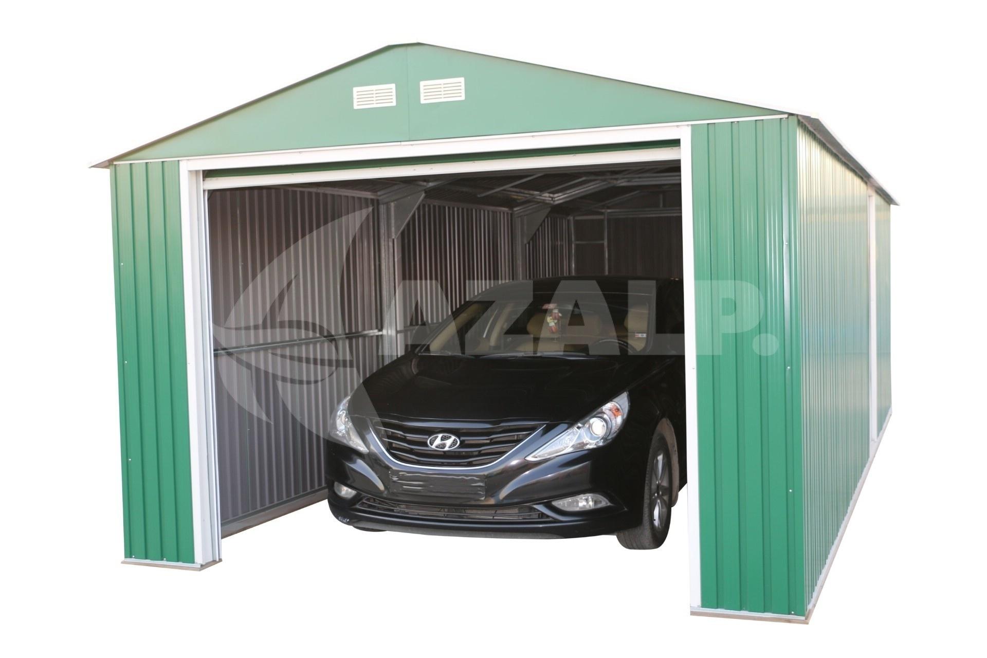 Kachel Voor Garage : Duramax garage 12x20 groen kopen bij azalp.nl