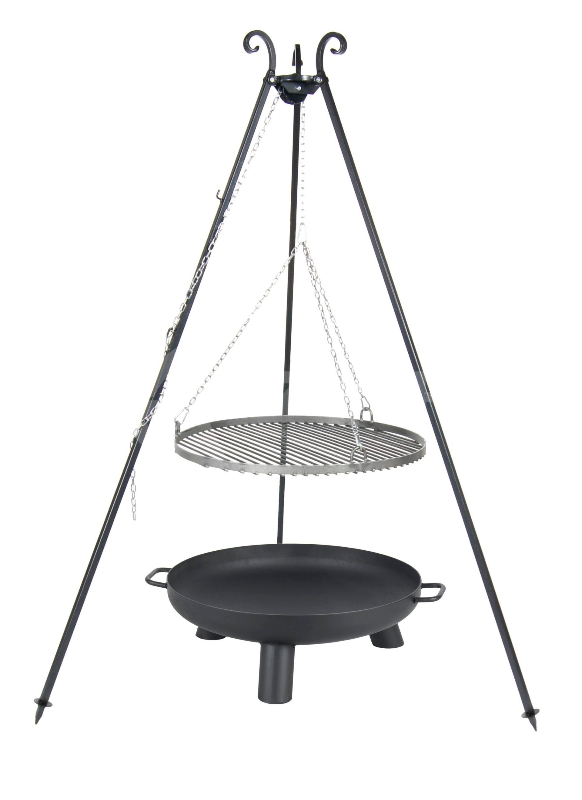farmcook swing grill viking 70 cm vuurschaal pan37 80. Black Bedroom Furniture Sets. Home Design Ideas