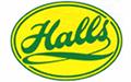 logo van Halls, te koop bij Azalp.nl