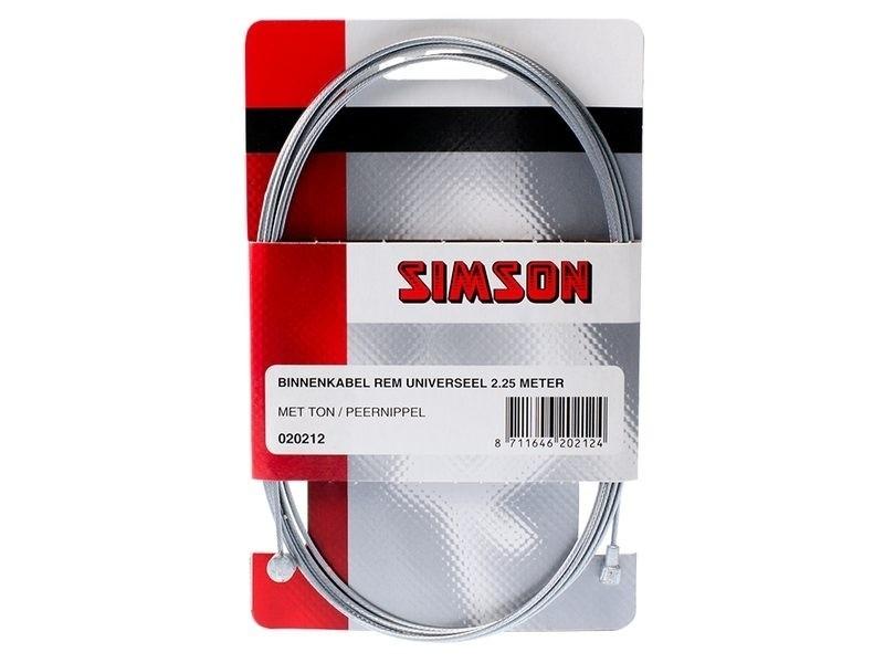 Simson Rem Binnenkabel universeel 2.25mtr Gegalv. 020212