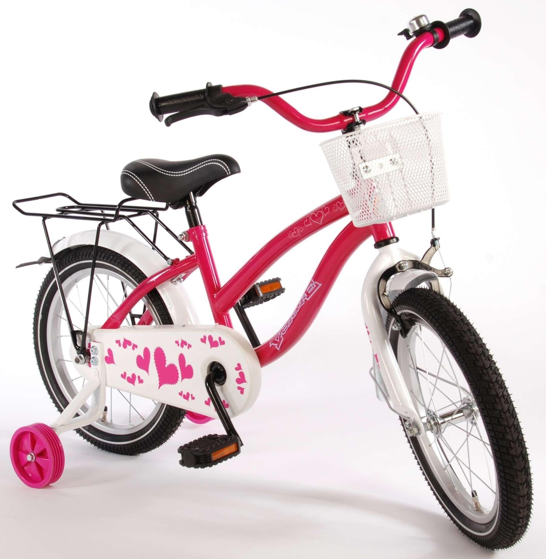 Volare Heart roze 16 inch meisjesfiets 71600