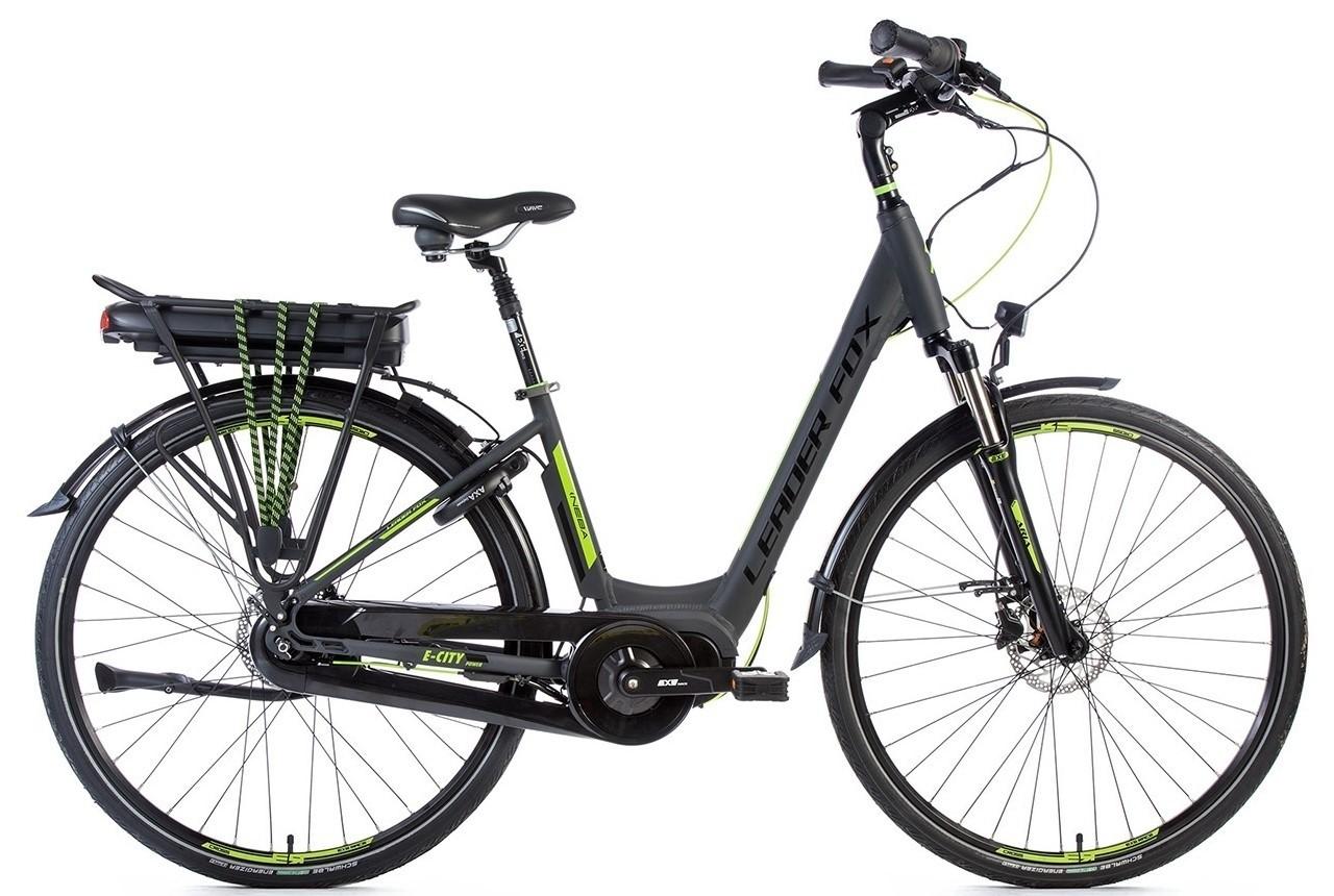 Leader Fox E-Bike Neba City 8V model 2018 met middenmotor