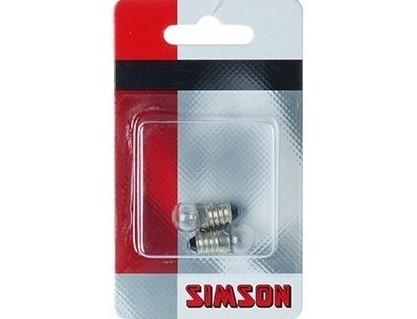 Simson Fietslampjes Achter 2-stuks 020650