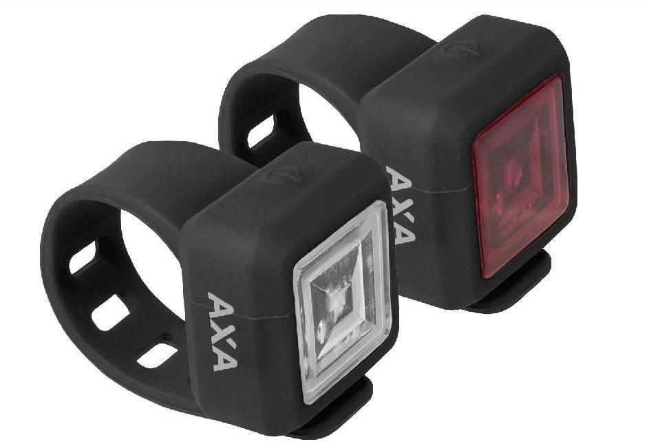 AXA Verlichtingsset Niteline 11 LED batterij zwart