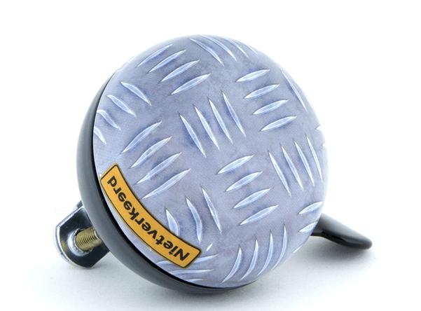 Nietverkeerd DD Bel 60mm Eco met 'Metal' print