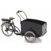 Afbeelding van Vogue E-Bike Bakfiets Troy 7V met achterwielmotor