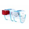 Afbeelding van IKZI-Light Stripties LED set elastiek bev. wit/blauw