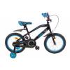 Afbeelding van Spirit Racer Jongensfiets zwart-blauw 16 Inch