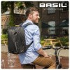 Afbeelding van Basil Urban Dry Backpack Fietsrugzak Zwart