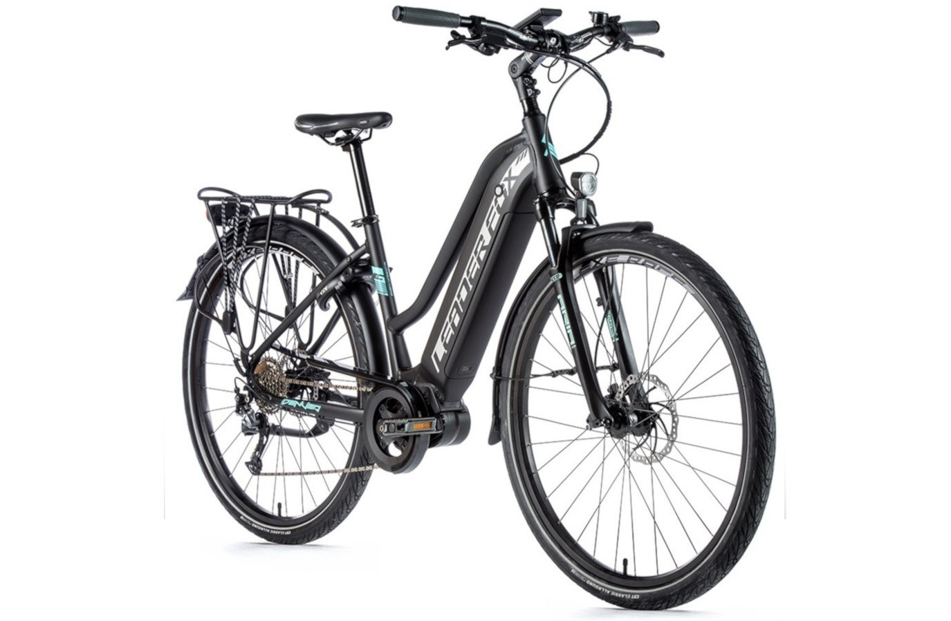 Leader Fox E-Bike Denver Dames 8V met middenmotor