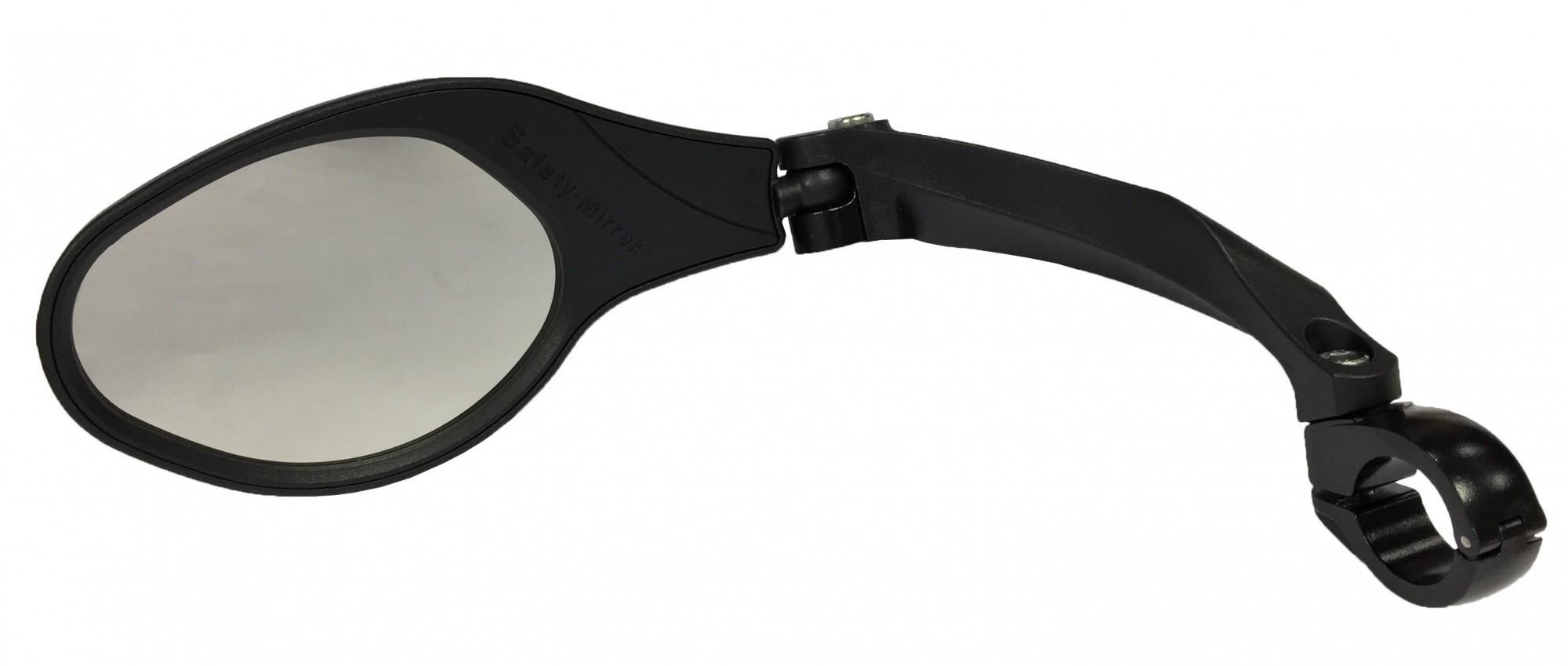 Mirage Stuurspiegel links GR verstelbaar / draaibaar zwart