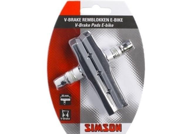 020209 Simson V-brake Remblokken E-bike 80mm