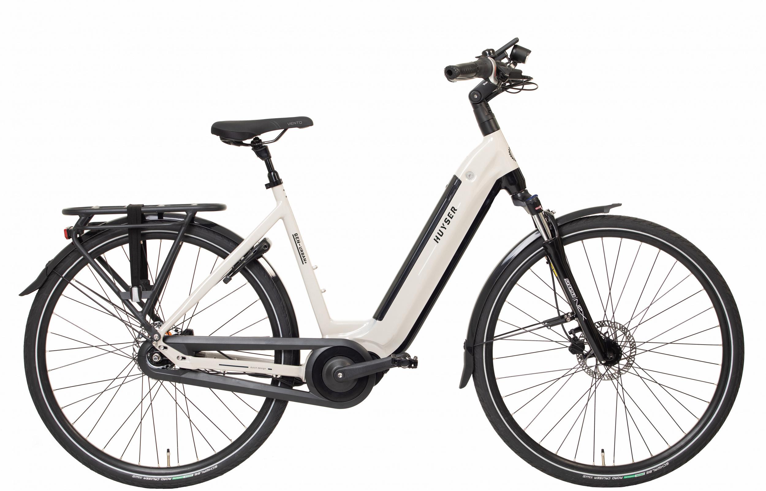 Huyser Gen Urban Plus elektrische fiets 7V met middenmotor