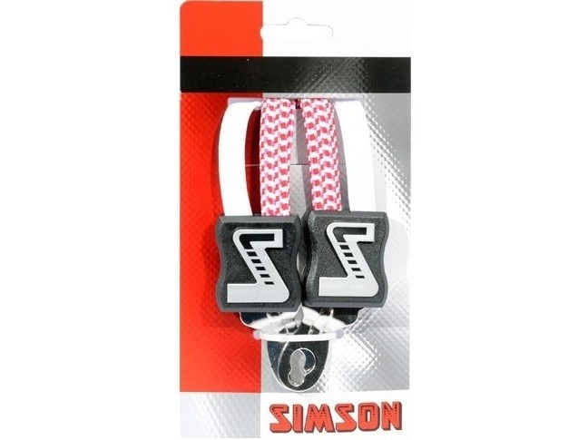 021366 Simson Snelbinder 49cm extra kort wit/roze