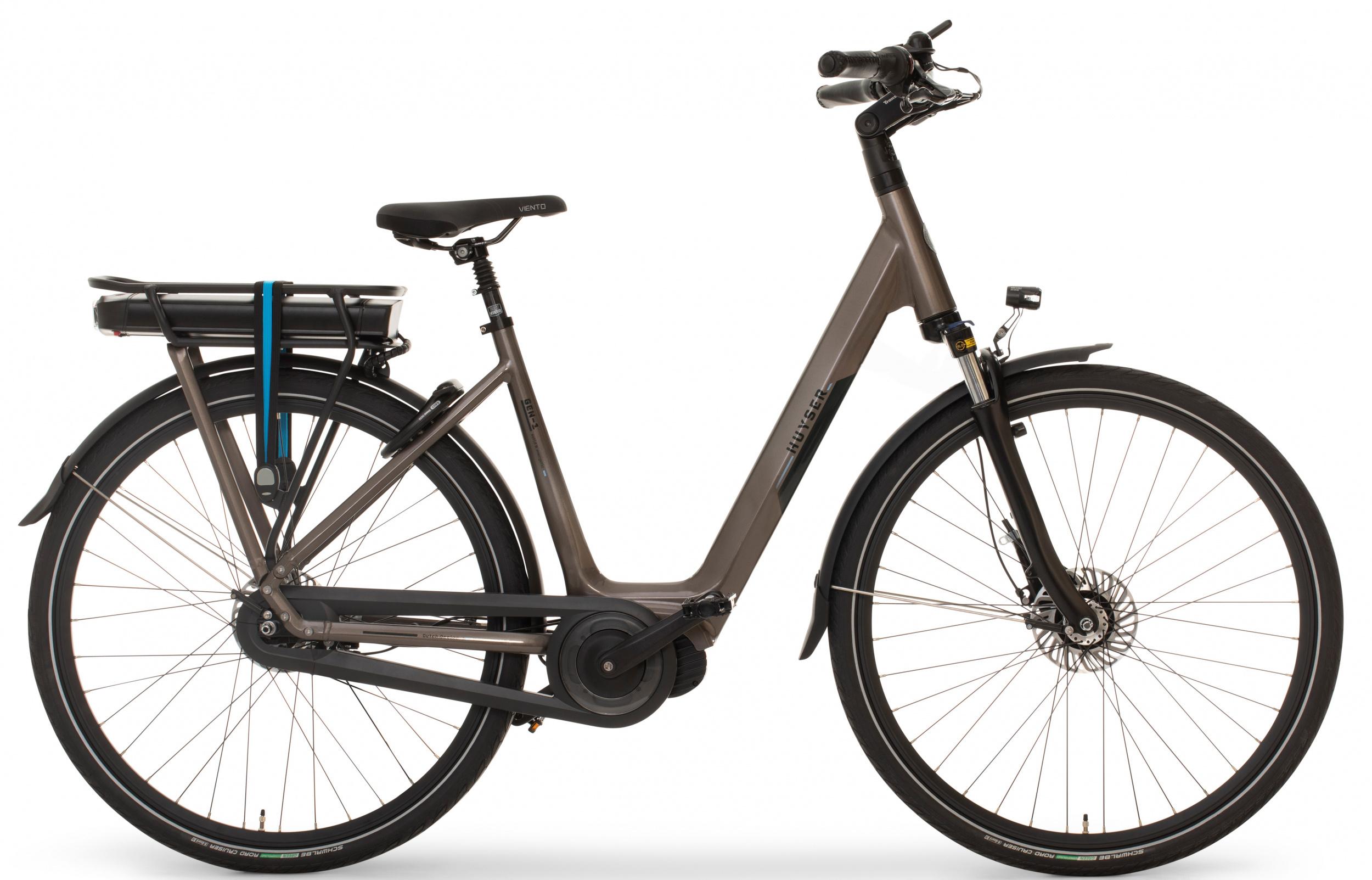 Huyser Gen 1 elektrische fiets 8V met middenmotor