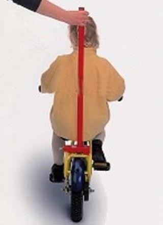 Balans trainer (begeleidstang) kinderfiets aan bagagedrager