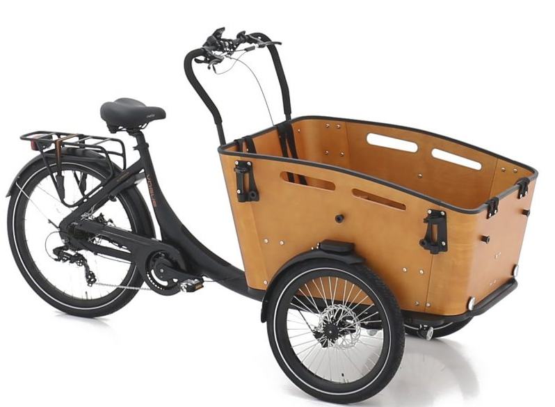 Vogue E-Bike Bakfiets Superior 3 met achterwielmotor