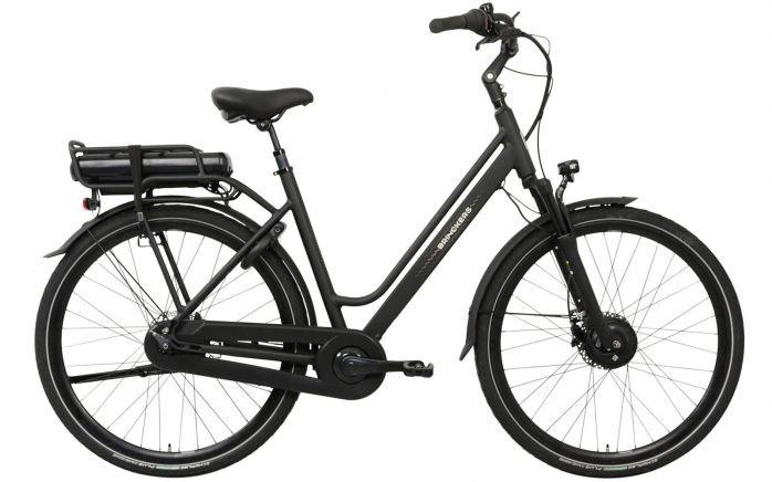Brinckers Boston dames elektrische fiets 8V met voorwielmotor