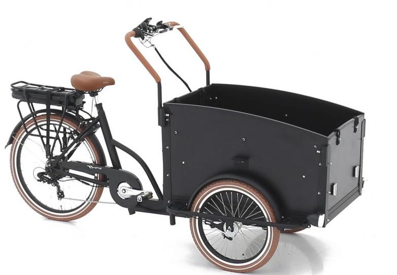 Vogue E-Bike Bakfiets Troy 7V met achterwielmotor