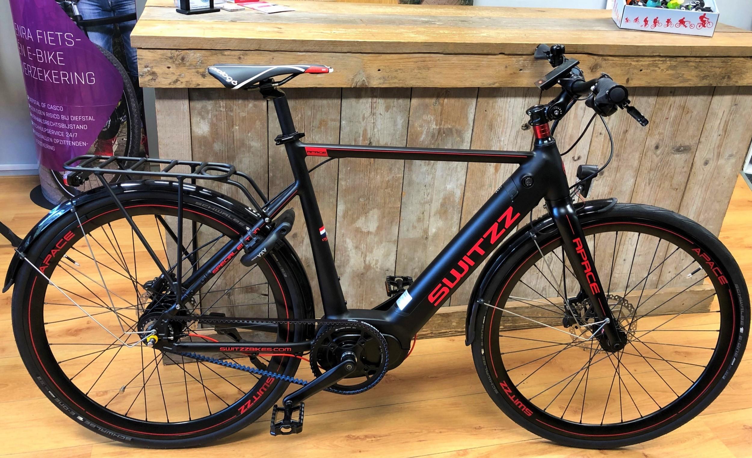 Switzz Apace E-Bike heren 8V met middenmotor