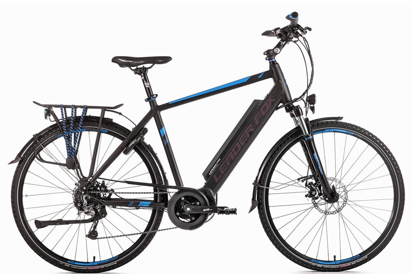 Leader Fox E-Bike Denver Gent 8V model 2018 met middenmotor
