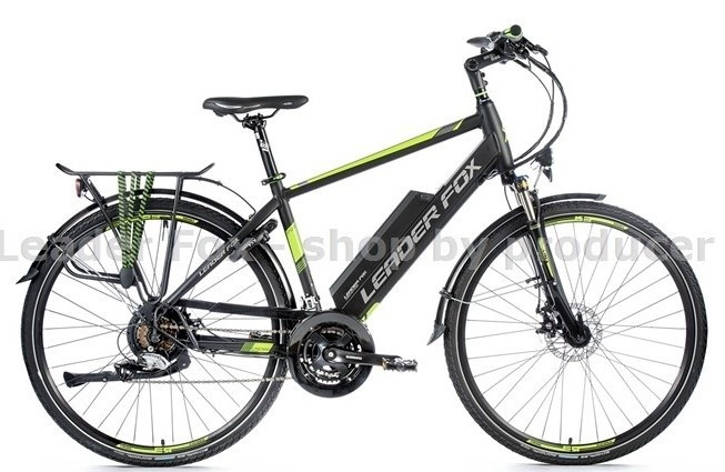 Leader Fox E-Bike Sandy Gent 21V met achterwielmotor