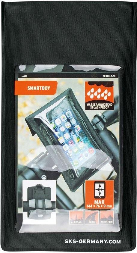 SKS Smartboy stuurhouder smartphone - Zwart