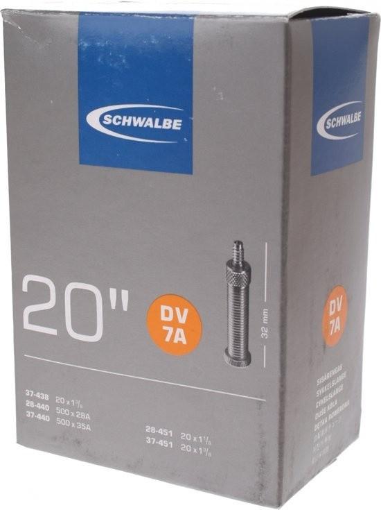 Schwalbe binnenband DV7A 20 inch HV 37/438 28-37/440 28-37/451