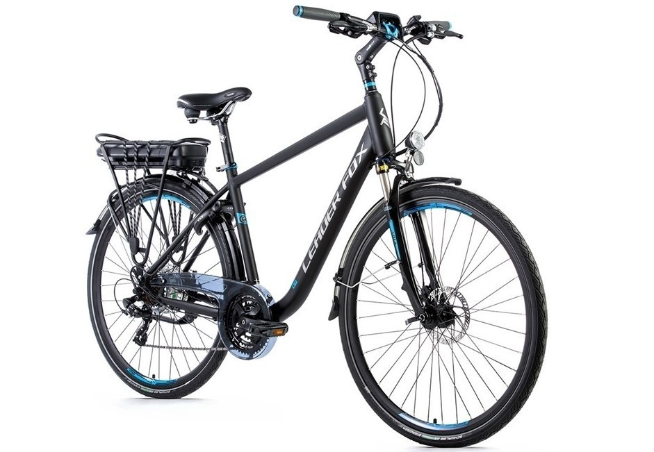 Leader Fox E-Bike Forenza heren 21V model 2019 met achterwielmotor