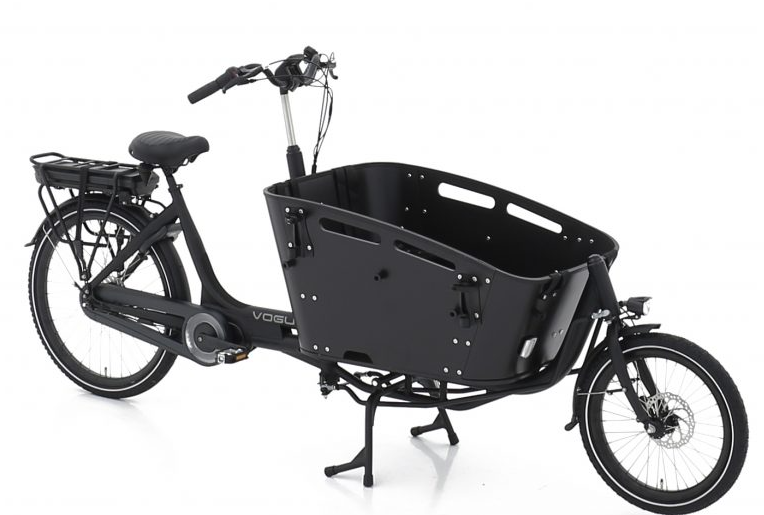 Vogue E-Bike Bakfiets Carry 2 met middenmotor