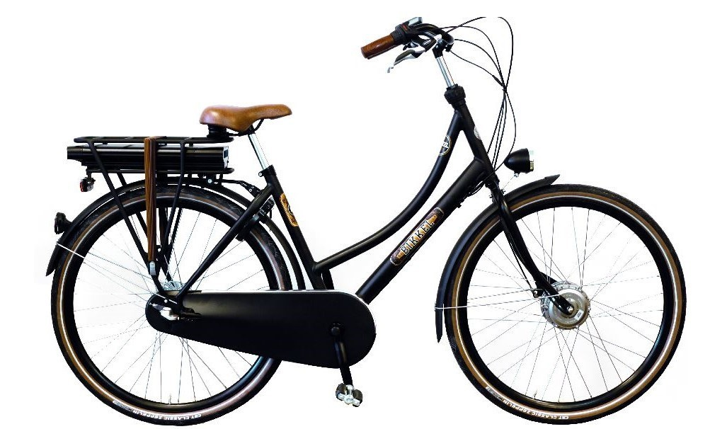 Bikkel iBee BT Elektrische Transportfiets dames 3V met voorwielmotor