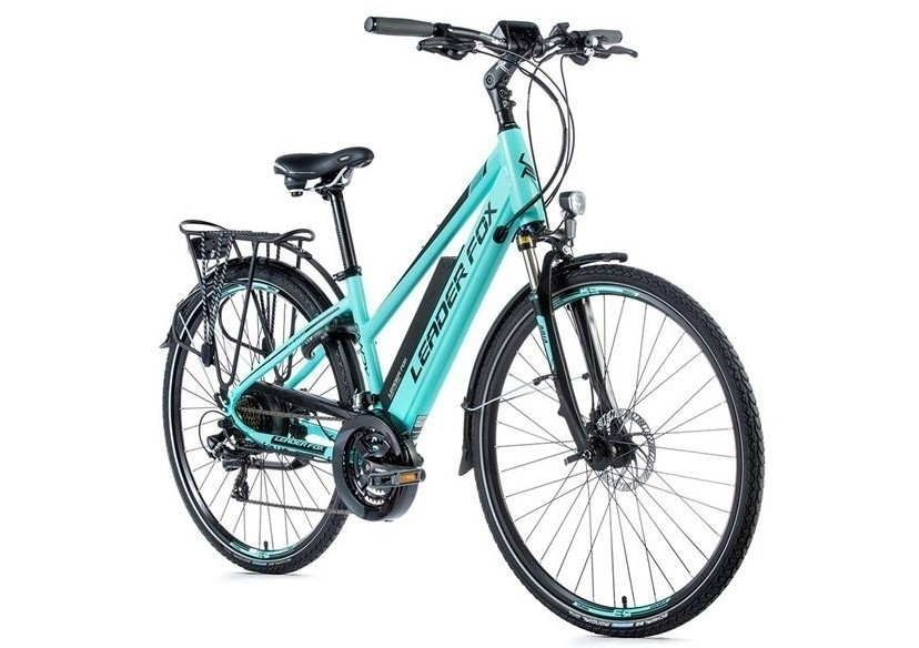 Leader Fox E-Bike Sandy dames 21V model 2019 met achterwielmotor