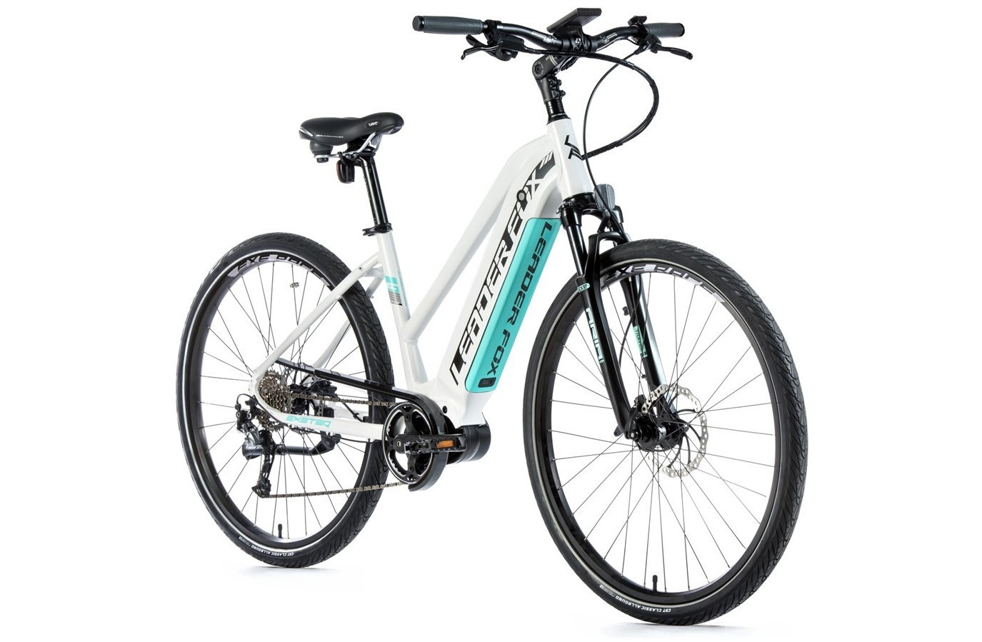 Leader Fox Cross E-Bike Exeter lady