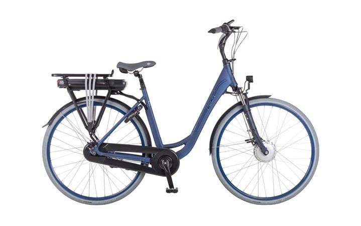 Puch E-Ambient lady met voorwielmotor